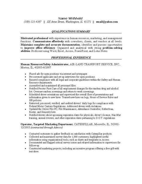 Diesel Mechanic Resume Sample (http\/\/resumecompanion - human resource generalist resume