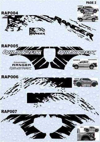 Image Result For Ford Ranger Raptor Stickers Motocicletas