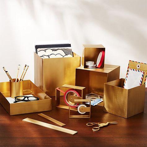 Get The Look Spare Modern Workspace Elegant Office Accessories
