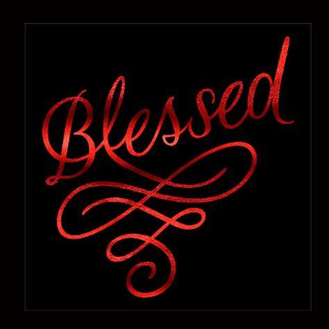 Faith, Blessed -  Metallic, Plain or Glitter Vinyl  Bling on  Black Shirt - Contact for Shirt  & Vinyl Color