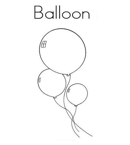 Ballon Ausmalbilder Ausmalbilder Ausmalen Bilder