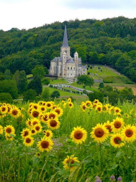 Eglise Notre Dame in Mont-Devant-Sassey, Lorraine, France