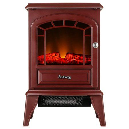 Sports Outdoors Free Standing Electric Fireplace Freestanding