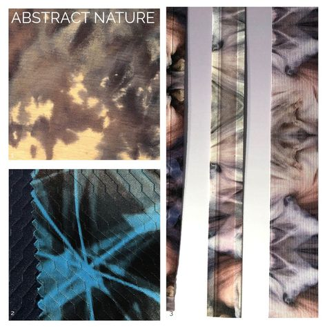 Functional Fabric Trends for Activewear A/W 20/21 Abstract Nature