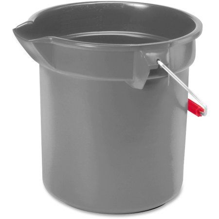 Rubbermaid Commercial 10 Qt Utility Bucket Gray Walmart Com Rubbermaid Chicken Nesting Boxes Nesting Boxes