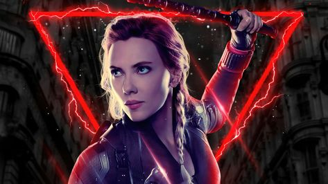 Marvel Comics Scarlett Johansson 4K HD Black Widow Wallpaper