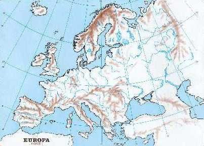 mapa FISICO EUROPA  Busca de Google  MAPAS  Pinterest