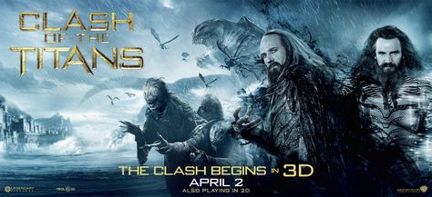 New CLASH OF THE TITANS Movie Posters in High Resolution