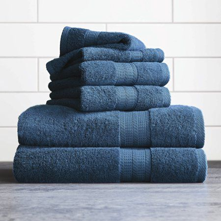 Better Homes Gardens American Made Towels Blue Towels