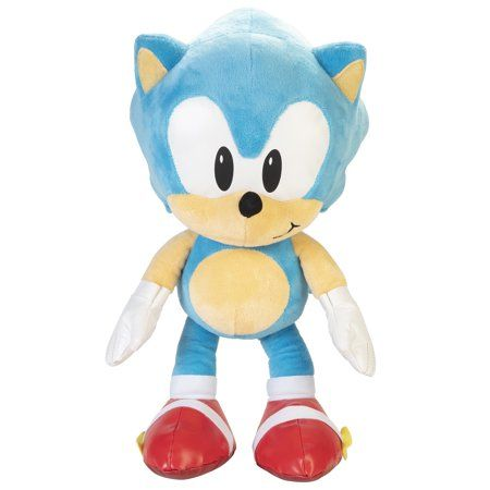 Sonic Jumbo Plush Sonic Walmart Com Game Character Sonic Sonic The Hedgehog