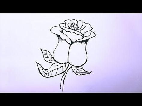 Pencil Drawing How To Draw A Flower Step By Step Cool Drawings Cool Easy Doodle Youtube In 2021 Cool Drawings Drawings Simple Doodles