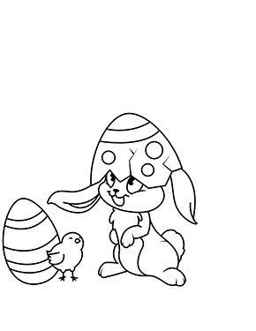 Osterhase Und Kleines Kuken Zum Ausmalen Ausmalbilder Malvorlagen Ostern Osterhase Kindergarten In 2021 Osterhase Malen Ostern Zeichnung Ausmalbilder