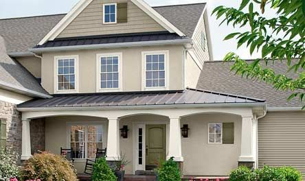 American Classics, exterior paint Shown in: Woodrow Wilson Putty ...