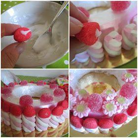 Pasticciando in cucina: Torta di caramelle di Peppa Pig