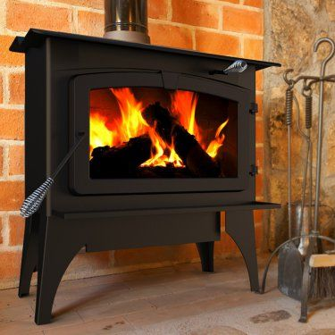 Pleasant Hearth Large Wood Burning Stove With Blower Black Wood Stove Wood Burning Stove Wood Pellet Stoves