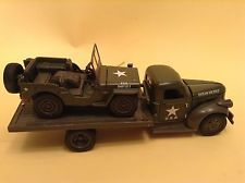 National Motor Museum Mint 1941 Military Jeep Willys 1:32 Scale W FLATBED TRUCK