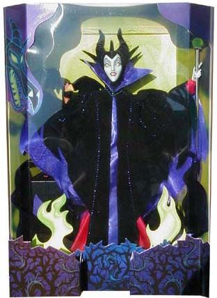 1998 Great Villains Sleeping Beauty Maleficent Barbie Doll 2