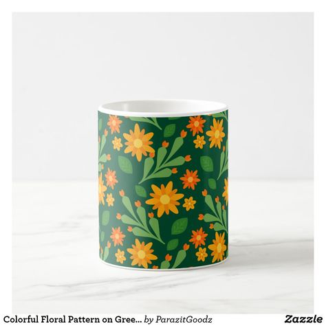 The freshness of wildflowers meet the elegance of warm colors. With this design of orange wildflowers, you will feel yourself fresh and romantic in flower garden wherever you are. #zazzle #flower #floral #romantic #romance #garden #plants  #artprint #gifts #gift #giftideas #design #unique #custom #drink #drinkware #mug #coffee #tea #flask #tumbler #bottle #beer #cancooler #cooler #glass #dining #personalized #office #softdrink