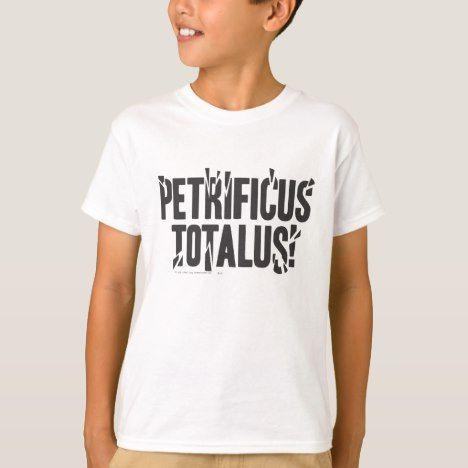 Harry Potter Spell Petrificus Totalus T Shirt Zazzle Com Harry Potter Outfits Harry Potter Spells Harry Potter Tshirt