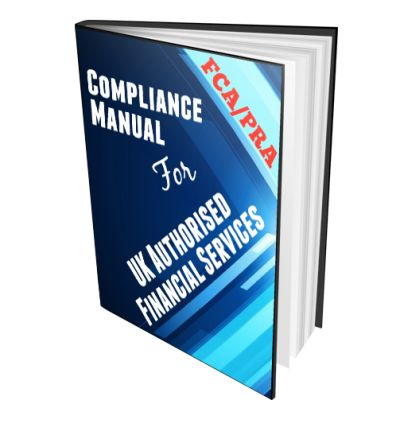 UK Financial Services Regulatory Compliance Manual Template   Compliance  Manual Template
