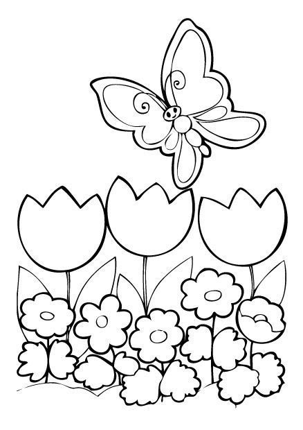 Modele Coloriage Luxury Coloriage Raiponce Tangled Pinterest Best Spring Coloring Pages Flower Coloring Pages Butterfly Coloring Page