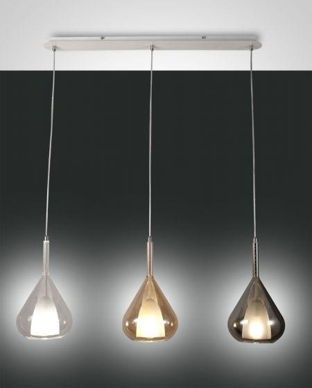 3er Pendelleuchte Lila Pendelleuchte Dekorative Lampen Design Leuchten