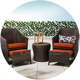 Enhance The Outdoor Look With Patio Furniture Dining Sets Conversation Sets Small Sp Small Patio Furniture Balcony Furniture Set Patio Furniture Collection