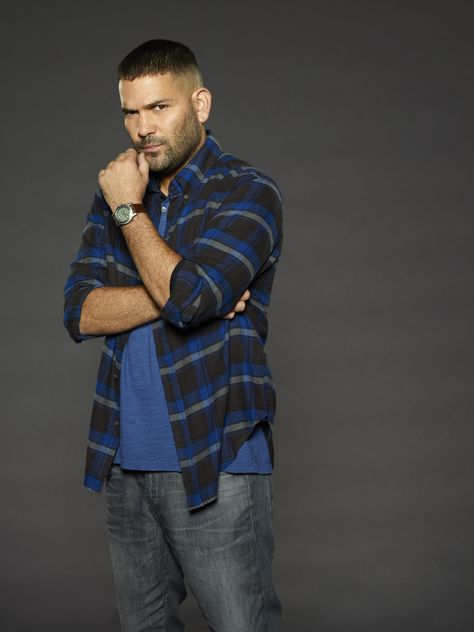 Guillermo Diaz as Huck on Scandal. Huck is my favorite next to Olivia :)