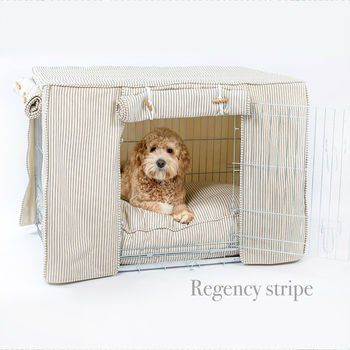 Dog Crate, Cover And Cushion Set Choice