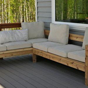 Ryobi Nation Outdoor Sofa Sectional Piece Patio Sofa Diy Diy Outdoor Furniture Patio Sectional Diy