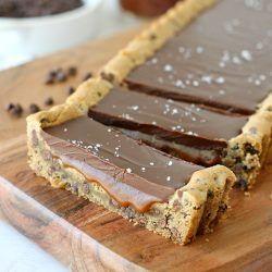 Chocolate & caramel tart with hazelnuts | Jamie magazine
