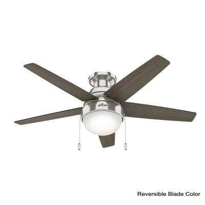 Small Flush Mount Ceiling Fan With Light
