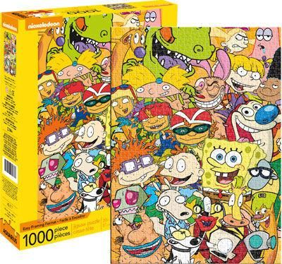 Nickelodeon Cast 1 000pc Puzzle Nickelodeon Cast Nickelodeon 1000 Piece Jigsaw Puzzles