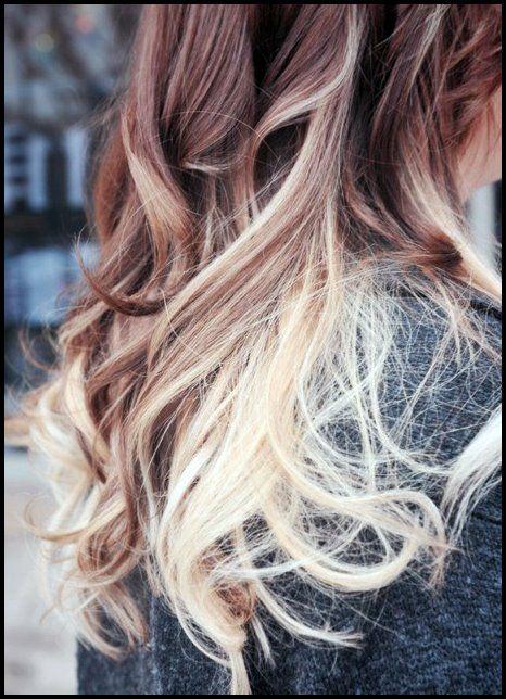 Ombre Frisuren Fur Langes Haar Girls Hair Trends Blonde Hair