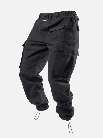 Shop Cargo Pants In Blacktailor Free Shipping Worldwide On All Orders Free Express Shipping On Orders In 2020 Pants Outfit Men Cargo Pants Men Fashion Casual Outfits