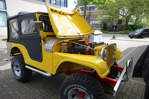 Clic Jeep Cj5 Converted To Electric