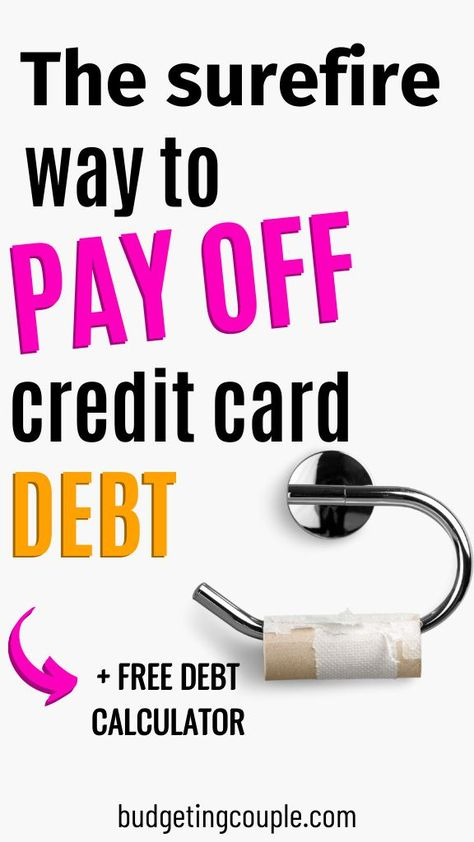How to Pay Off Credit Card Debt Fast (save thousands)