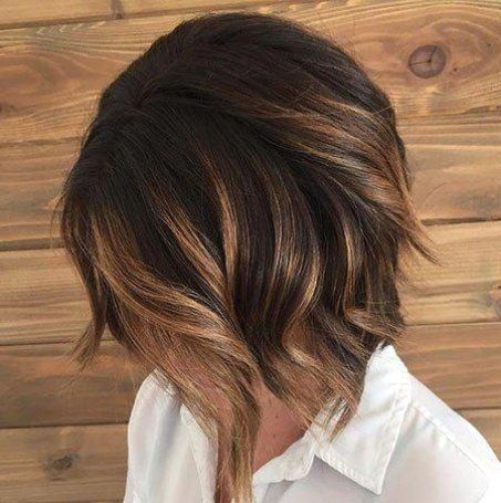 Ombre Balayage Kurzes Haar Haarfarben Balayage Kurze Haare Bob Frisur