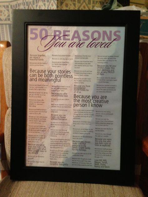 9 Sister 50th Birthday Gift Ideas 50th Birthday 50th Birthday Gifts Birthday Gifts