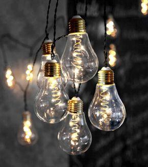 Leuchten Glühbirnen durch