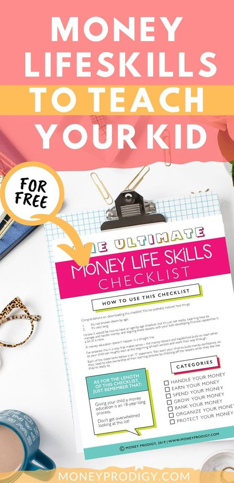 Money life Skills for Kids and Teens
