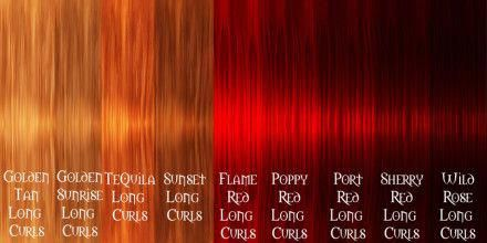 Different Colors Of Burgundy Red Auburn Red Different Shades Of Red Hair Color That Are Very Popular Red Hair Color Chart Hair Color Chart Hair Color Guide