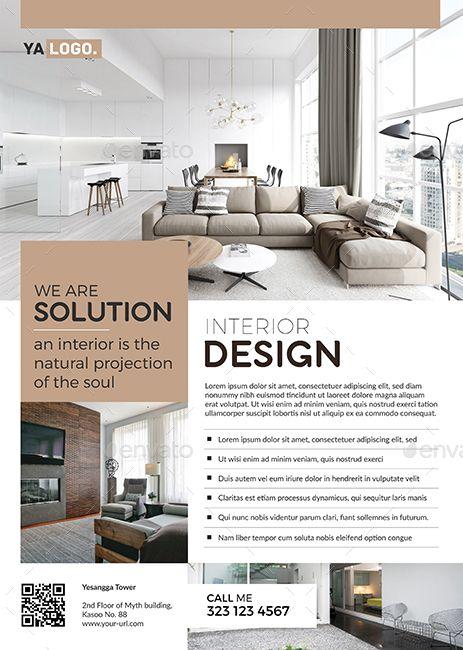 Interior Flyer Promo Brosure Design