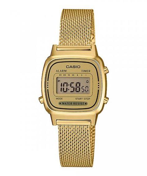 Casio Collection Relógio Mulher LA670WEMY 9EF | Casio dorado