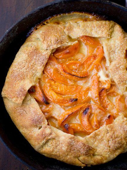 Gluten Free Apricot Mascarpone Galette Recipe Gluten Free Pie