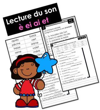 Lecture Du Son E Ei Ai Et Lis Surligne Ou Souligne Complete Et