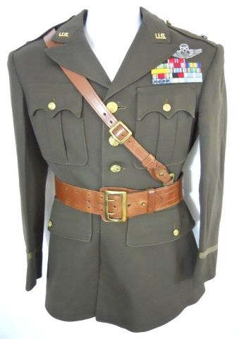 Lot # : 155 - WWII U.S. Army Air Corp General Officer Uniform www.jjamesauctions.com