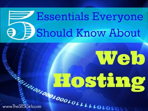 5 Essentials Everyone Should Know About Web Hosting. Shared by /pamelamkramer/