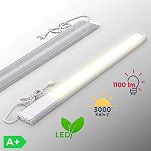 Lampada sottopensile cucina LED luce calda 3000K LED ...