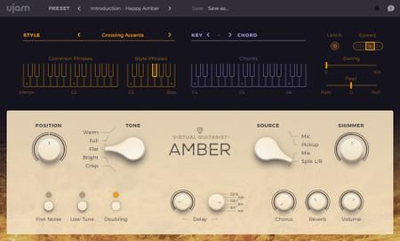 UJAM Virtual Guitarist AMBER v1 0 2 MacOSX Download | Nulled